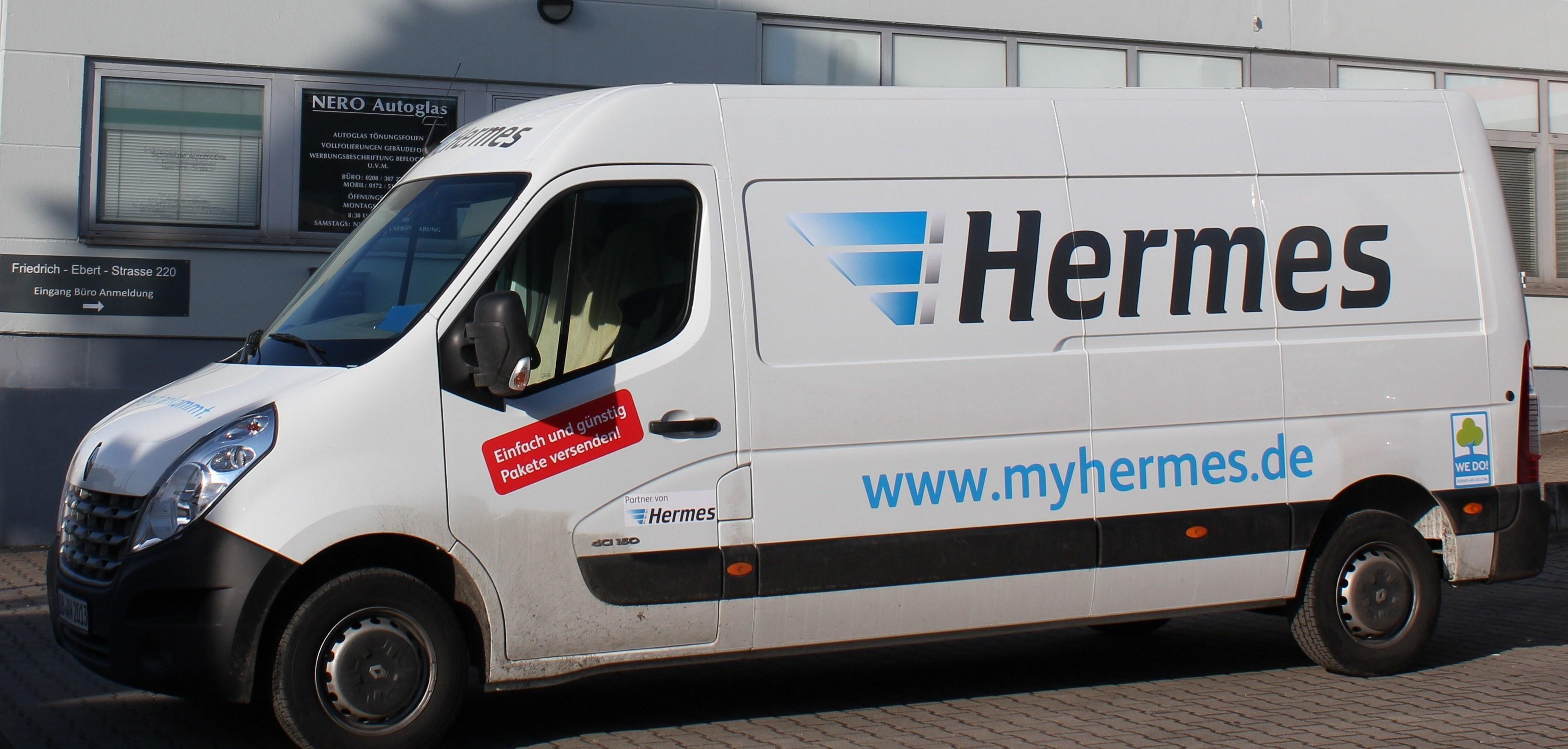 Hermes Lieferwagen